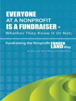 Everyone At A Nonprofit Is A Fundraiser