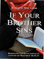 If Your Brother Sins