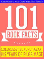 Colorless Tsukuru Tazaki and His Years of Pilgrimage - 101 Amazing Facts You Didn't Know (GWhizBooks.com)