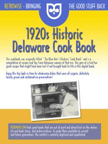 1920s Historic Delaware Cook Book