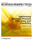Optimising Business Process Efficiency and Flexibility