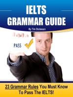 IELTS Grammar Guide