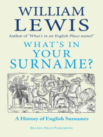 What's in Your Surname?