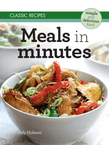 Classic Recipes: Meals in Minutes