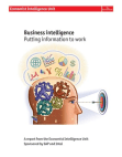 Business Intelligence of SAP and Intel