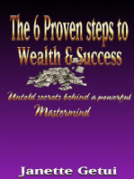 The 6 Proven Steps to Wealth & Success