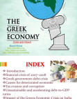 Crisis and Impact on Greek Economy