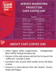 Service Marketing Project On Café Coffee Day