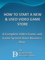How To Start A New & Used Video Game Store