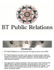Public Relations of BT