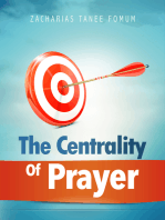 The Centrality Of Prayer