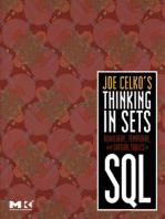 Joe Celko's Thinking in Sets