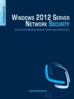 Windows 2012 Server Network Security