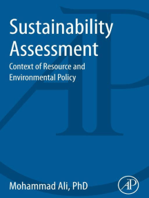 Sustainability Assessment: Context of Resource and Environmental Policy