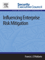 Influencing Enterprise Risk Mitigation