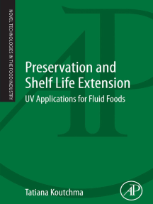 Preservation and Shelf Life Extension: UV Applications for Fluid Foods