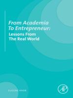 From Academia to Entrepreneur