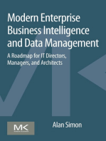 Modern Enterprise Business Intelligence and Data Management