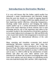 Introduction to Derivative Market