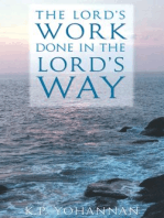 The Lord's Work Done in the Lord's Way