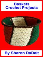 Baskets Crochet Projects