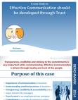 Effective Communication Should be Developed Through Trust