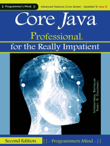 Core Java Professional : for the Really Impatient.