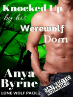 Knocked Up by His Werewolf Dom