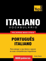 Vocabulário Português-Italiano
