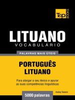 Vocabulário Português-Lituano