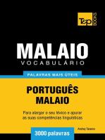 Vocabulário Português-Malaio: 3000 palavras mais úteis