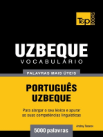 Vocabulário Português-Uzbeque