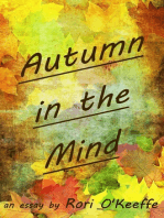 Autumn in the Mind