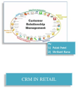 CRM in Retail Sector