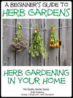 A Beginners Guide to Herb Gardens