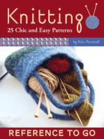 Knitting: Reference to Go: 25 Chic and Easy Patterns