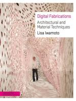 Digital Fabrications