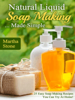 Natural Liquid Soap Making... Made Simple