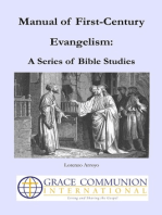 Manual of First-Century Evangelism