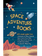 Space Adventure Books Sampler