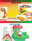 Consumer Perceptions for Kellogg's Cornflakes