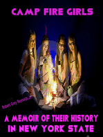 Camp Fire Girls A Memoir of The History in New York State