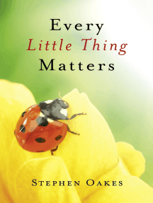 Every Little Thing Matters