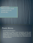 PPT on Emerging Processes and Concepts in Banking