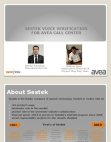 Case Study on SESTEK Voice Verification for AVEA Call Center