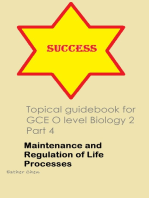 Topical Guidebook For GCE O Level Biology 2 Part 4