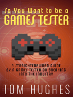 So You Want to be a Games Tester