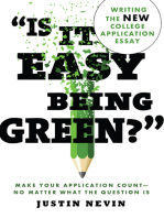 """""""Is It Easy Being Green?"""""""