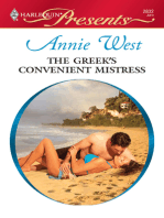 The Greek's Convenient Mistress