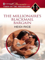 The Millionaire's Blackmail Bargain